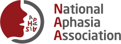 The logo of the National Aphasia Association